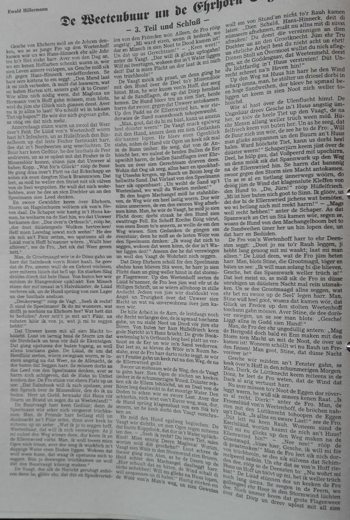 4 Der Niedersachse -1991 - De Beetenbuur un de Ehrhorn-Sage Teil 3-1