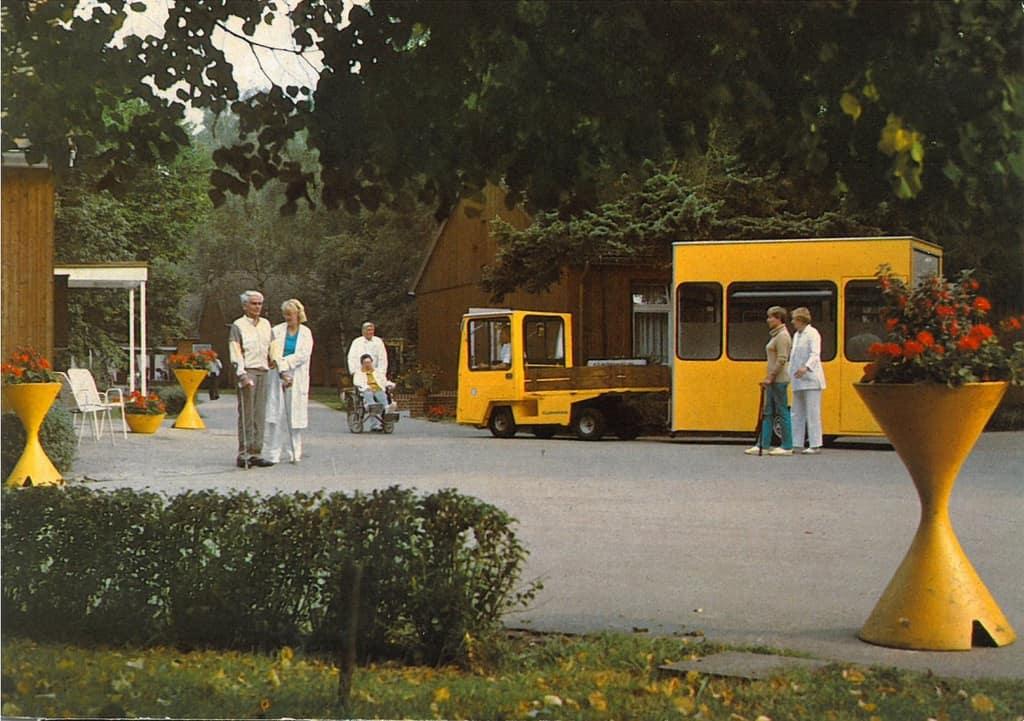 Ansichtskarte ENDO-Klinik Abt II in Wintermoor