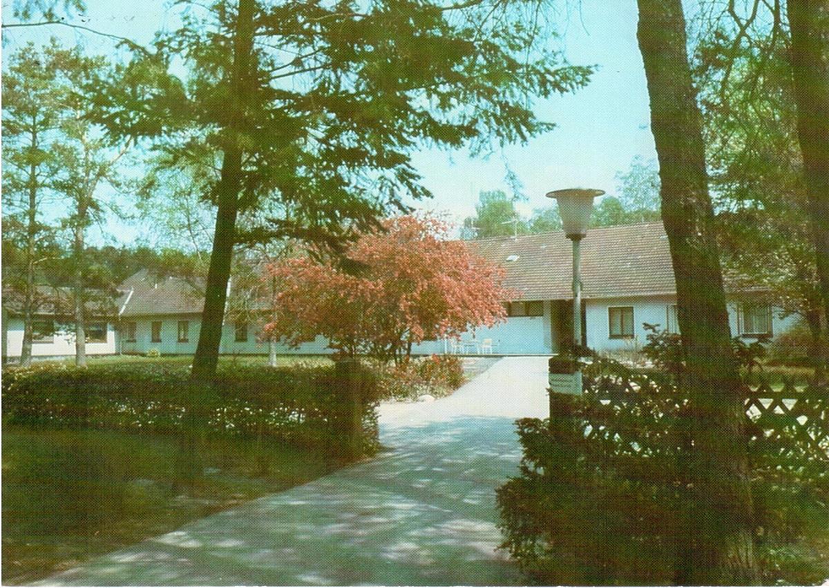 Ansichtskarte ENDO-Klinik Gästehaus um 1986