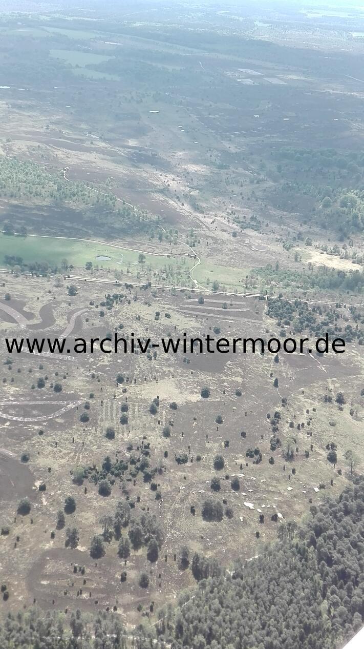 Luftbild Heideflächen Nahe Des Wümmequellmoors Bei Niederhaverbeck Im Mai 2017 Web