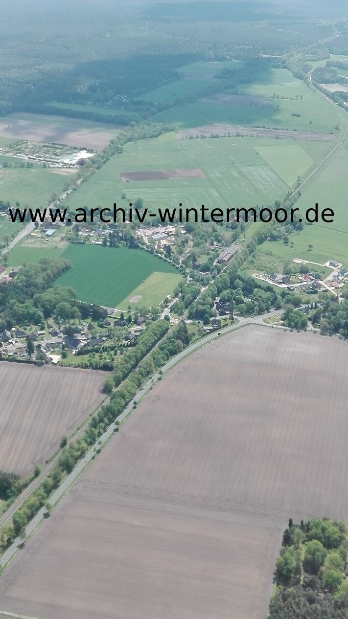 Luftbild Wintermoor An Der Chaussee Im Mai 2017 Web