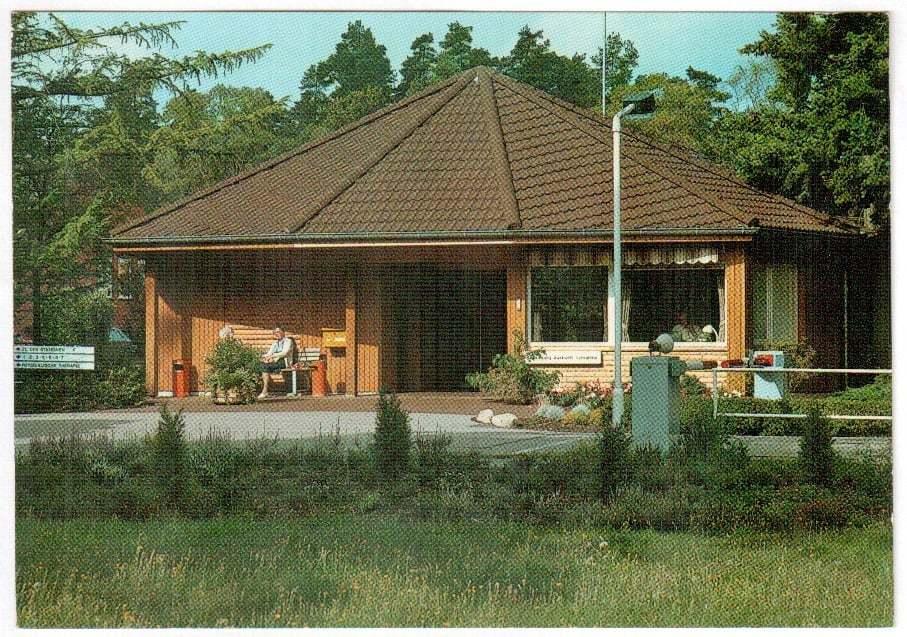 Postkarte-Endoklinik-Aufnahmegebäude
