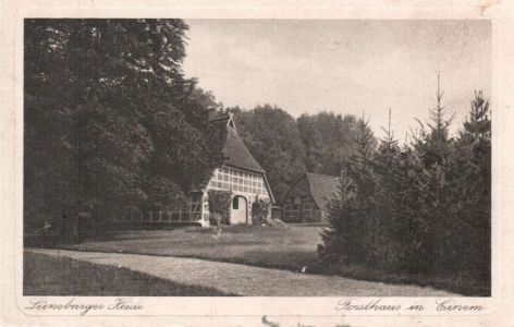 19260000_Ansichtskarte Forsthaus in Einem