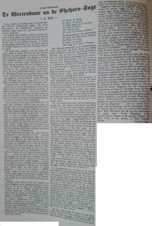 3 Der Niedersachse -1991 - De Beetenbuur un de Ehrhorn-Sage Teil 2-1