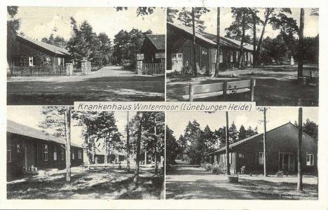 Ansichtskarte Krankenhaus Wintermoor 375 Verlag Paul Naschke um 1955