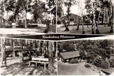 Ansichtskarte Krankenhaus Wintermoor Verlag R. Reher Nr. 40