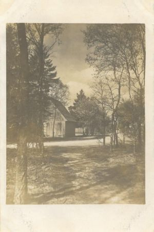 Dorfstrasse in Wintermoor - eventl Kurve Vor den Höfen - Ansichtskarte Verlag H.v.Appen undatiert