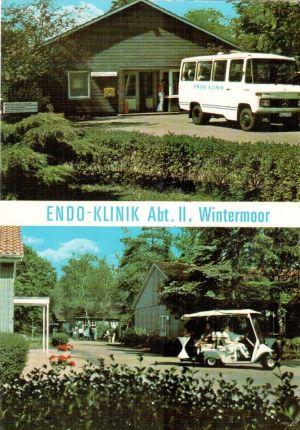 ENDO-Klinik Abteilung II - Alstercolor Ansichtskarte um 1980