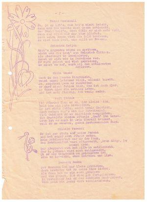 Festschrift Kameradschaftsabend Von Gut Ziel 1951, Seite 2
