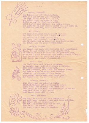 Festschrift Kameradschaftsabend Von Gut Ziel 1951, Seite 3