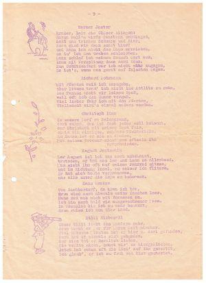 Festschrift Kameradschaftsabend Von Gut Ziel 1951, Seite 4