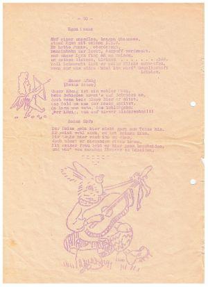 Festschrift Kameradschaftsabend Von Gut Ziel 1951, Seite 5