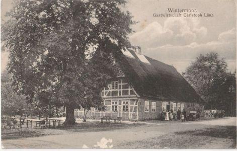 Gasthaus Lünz - Blank - Ansichtskarte um 1912