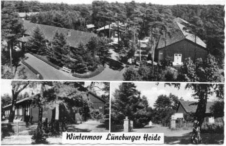 Krankenhaus Wintermoor - Ansichtskarte 17a von Friedr. Finnern