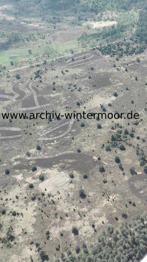 Luftbild Heideflächen Nahe Des Wümmequellmoors Bei Niederhaverbeck Im Mai 2017 Detail Web