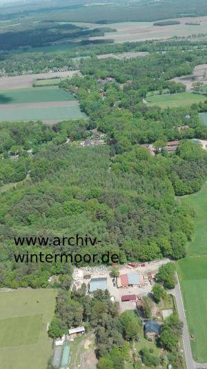 Luftbild Wintermoorer Kirchweg Und Inselmanns Café Im Mai 2017 Web
