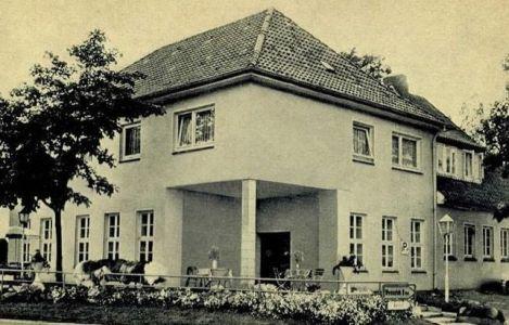 Rasthaus Drei Birken Wintermoor, Ansichtskarte VNP etwa 1971