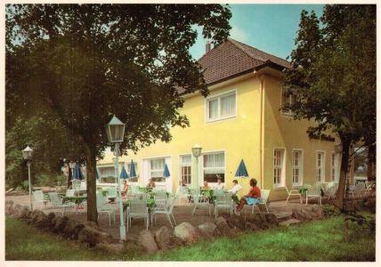 Rasthaus Drei Birken in Wintermoor - Ansichtskarte Atelier H. Neuner undatiert