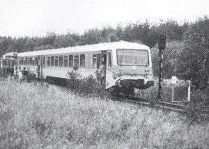 Zugunglück in Barrl 1992 - Foto aus DIe Heidebahn von Dierk Lawrenz