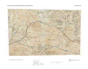 Wintermoor auf der Karte Kurhannoversche Landesaufnahme von 1770, Blatt Lauenbrück HL029, Quelle: Auszug aus den Geobasisdaten der Niedersächsischen Vermessungs- und Katasterverwaltung, LGLN (www.lgln.de)
