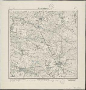 Schneverdingen auf der Karte von 1917. Quelle: © SLUB / Deutsche Fotothek, Permalink http://www.deutschefotothek.de/documents/obj/71052881