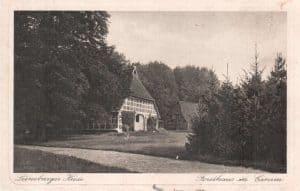 Forsthaus in Einem - Ansichtskarte ca. 1926