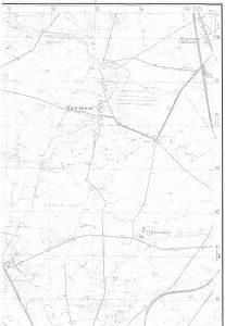 Wintermoor auf der TK25 von 1938, Quelle: Auszug aus den Geobasisdaten der Niedersächsischen Vermessungs- und Katasterverwaltung, www.lgln.de. © 2017