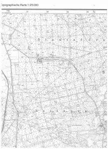 Ehrhorn auf der TK25 von 1981, Quelle: Auszug aus den Geobasisdaten der Niedersächsischen Vermessungs- und Katasterverwaltung, www.lgln.de © 2017
