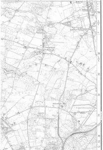 Wintermoor auf der TK25 von 1991/92, Quelle: Auszug aus den Geobasisdaten der Niedersächsischen Vermessungs- und Katasterverwaltung, www.lgln.de. © 2017