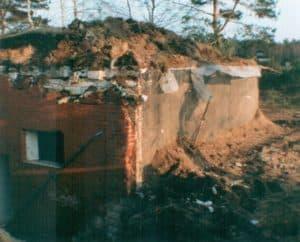 Wasserwerk Ehrhorn beim Abriss 1993