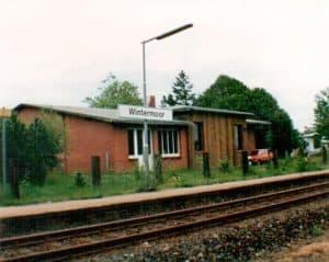 Bahnhof Wintermoor im Sommer 1993