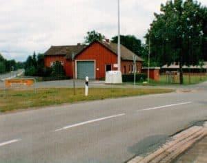 Feuerwehrgerätehaus in Wintermoor 1993