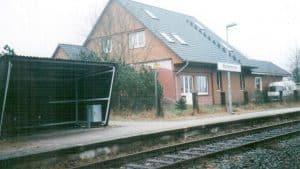 Bahnhof Wintermoor im Dezember 1998