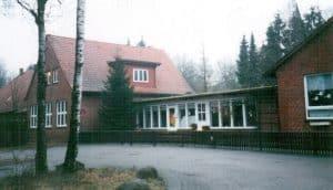 Kindergarten Wintermoor im Dezember 1998