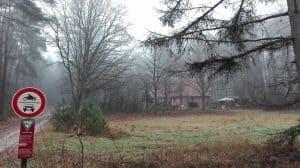 Waldarbeiterhof vor Einem, Januar 2017