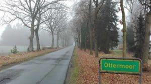 Ottermoorer Weg von Wintermoor a.d.Ch. kommend, Januar 2017