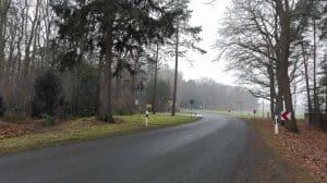 Wintermoorer Straße in Richtung Wesseloh auf Höhe Ramakershof, Januar 2017