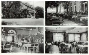 Ansichtskarte Gasthof Otto Buhr in Wintermoor - Kunstverlag Kumm um 1920
