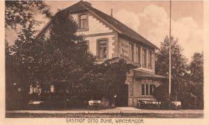 Ansichtskarte Gasthof Otto Buhr in Wintermoor - Verlag Hugo Schubert vor 1923