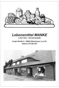 Anzeige Manke - aus 200 J Wintermoor-Geversdorf