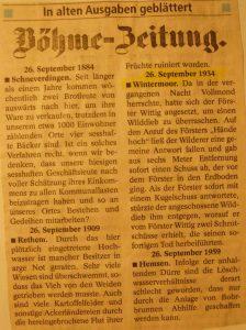 Böhme-Zeitung vom 26.9.1934 - Wilderei in Wintermoor