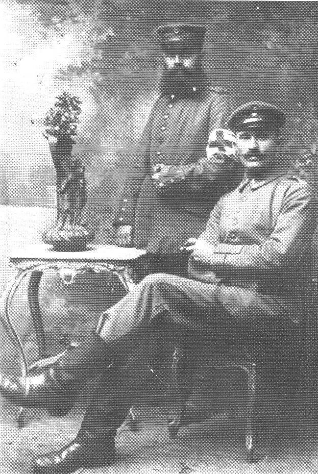 Dietrich Bleeken und Karl Menke - aus 200 J Colonie Wintermoor