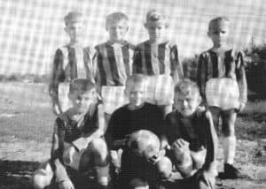 Erste E-Jugend 1968 der SG WIntermoor 68 - aus der Chronik 200 Jahre WIntermoor-Geversdorf