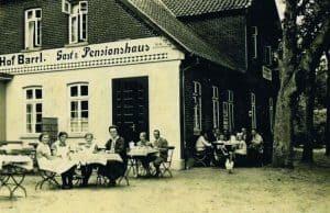 Gasthaus Hof Barrl Anfang 19 Jahrhundert, Foto: Hof Barrl