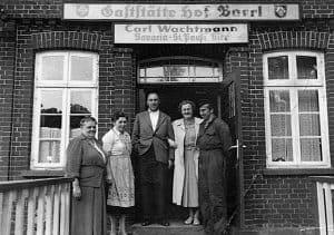 Gaststätte Hof Barrl in den 1950er Jahren, Foto: Hof Barrl
