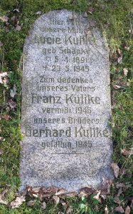 Grabstein Lucie Kulike