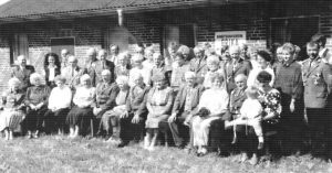 Gruppenbild Schützenverein Erika - aus der Chronik 200 Jahre Wintermoor-Geversdorf