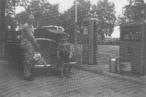 Gustav Bleeken - Tankstelle - aus 200 J Colonie Wintermoor