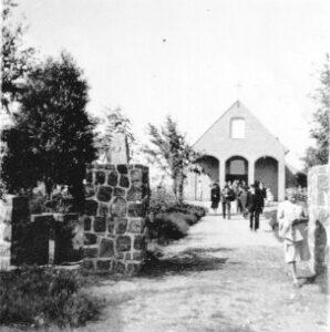 Kapelle Wintermoor 1947-67 - Foto Arthur Last