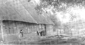 Vorwerkhof in den 30er Jahren - aus der Chronik 200 Jahre Wintermoor-Geversdorf